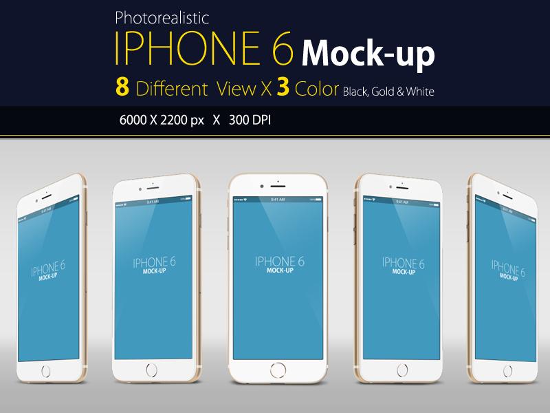 Free IPhone 6 Mock up free mock up mock-up iphone app display web apple psd