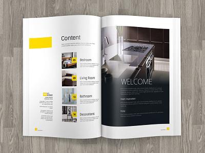 A4 Brochure / Magazine Mock up free book booklet business corporate mockup mock-ups multipurpose photorealistic presentation professional 3d