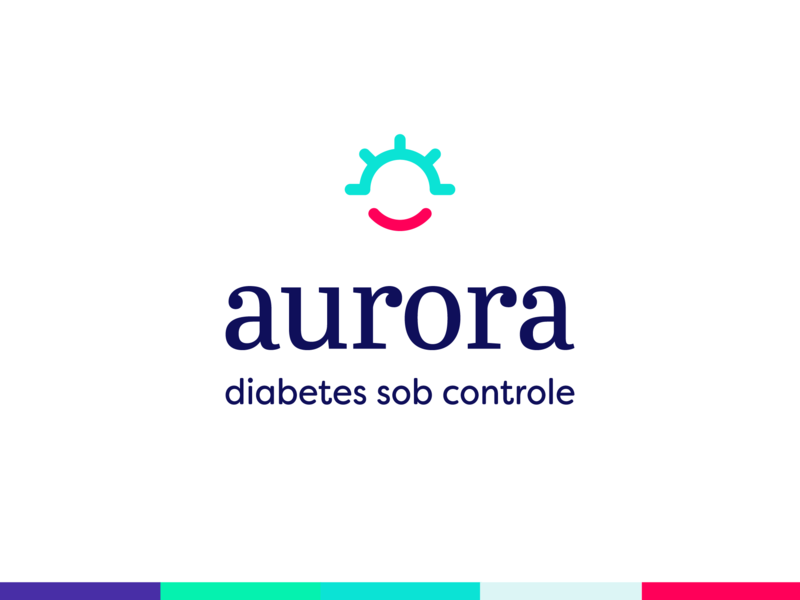 aurora - Diabetes Management Assistant pallete diabetes aurora brand logo