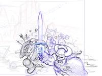 """Norse Reign"" - intro sketch"