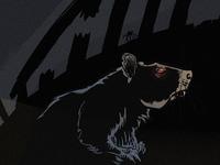 """HOSTEL"" - comic panel"