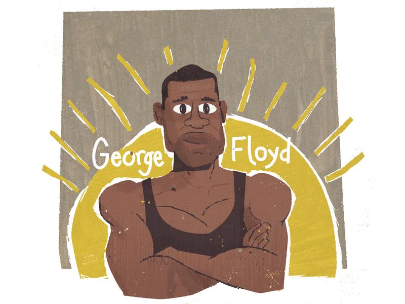 George Flody blacklivesmatter