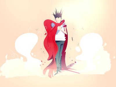 Tetsuo art photoshop illustrator branding comic texture anime akira character design character simple illustration