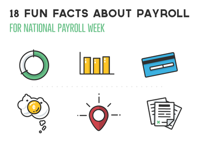 National Payroll Week Infographic By Kirk Wallace Dribbble