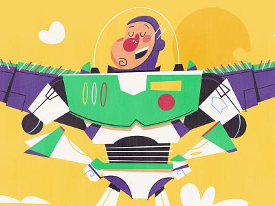 Buzz buzz illustration toy character buzz fan art fanart pixar buzz lightyear