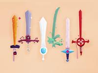 Fin Swords