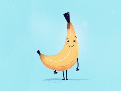 Bananaramabanawama buddy friend anthropomorphism cute candy food fruit snack character banana