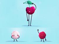 Cherry and chews