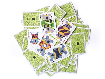 Koala Cards | Royals royalty clubs ace spade jack king queen board game bicycle cards playing cards cards royals