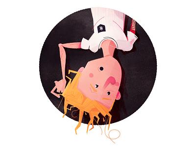 Updated avatar upside down headshot avatar