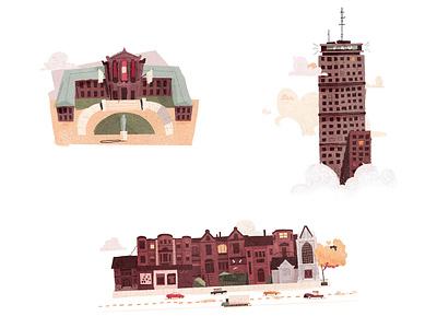 Boston landmarks 2 map cambridge mass massachusetts shopping newbury mfa sky scraper prudential landmarks landmark boston