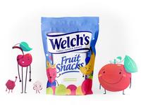 Fruit snack mockup