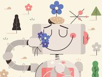 Flower sniffer