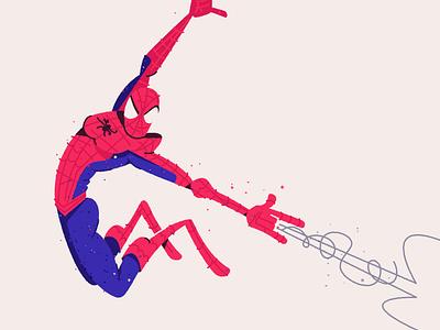 Spidey 3! hero web swing jump action pose fan art comics comic marvel spider man spider spidey spiderman