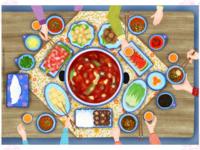 Chinese food-hot pot