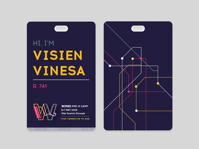 WIRED Identity Card (Dark)