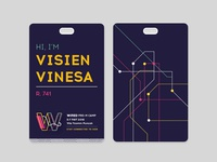 WIRED Identity Card (Dark)