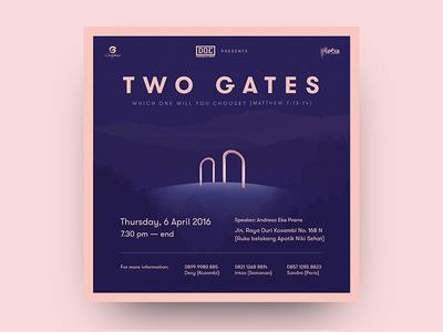 CG Invitation - Two Gates