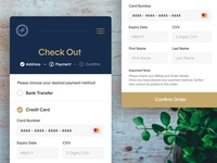 Daily UI #2 - Credit Card Check Out