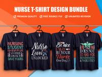 New Nurse T Shirt Design Bundle - Hello Dribble
