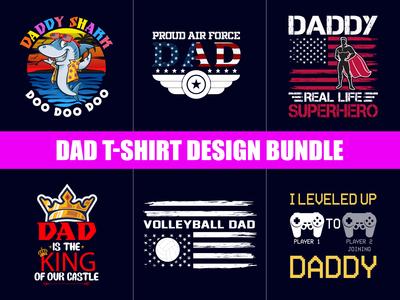 Dad  T-Shirt Design Bundle