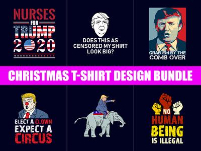 New Trump T-Shirt Design Bundle