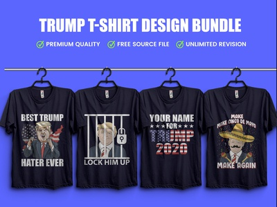 New Trump T-Shirt Design Bundle