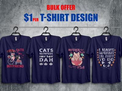 Funny Cat T-Shirt Design