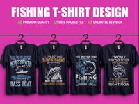 Fishing T-Shirt Design - Hello Dribble