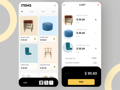 Conceptual design: e commerce App