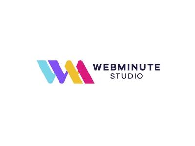 Webminute Logo Design Branding