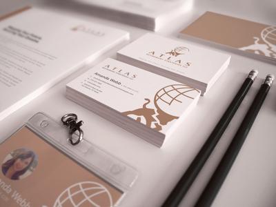 Atlas Branding and Stationary Design