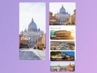 Travel itinerary app