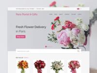 Redesign - Paris Florist & Gifts