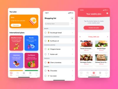 Meals App UI/UX mobile ux mobile ui app ux app ui ux ui mobile design mobile design app