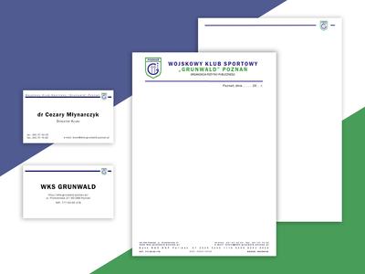 WKS corporate design / Papier firmowy dla WKS