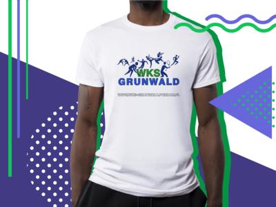 T-shirt for WKS Grunwald Poznan / Koszulka dla WKS Grunwald