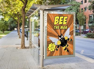 Bee the man