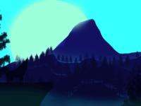 2D Landscape Illustration