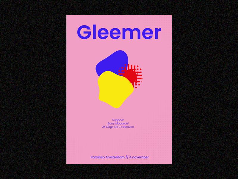 Gleemer poster design poster