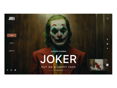 Joker 2019 Designs Themes Templates And Downloadable Graphic Elements On Dribbble