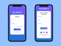 Daily UI Challenge  001 - Sign Up