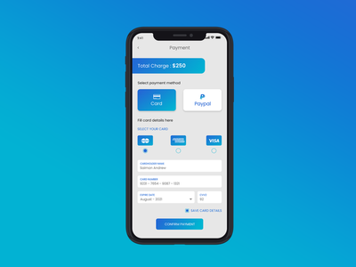 Daily UI Challenge 002 - Checkout