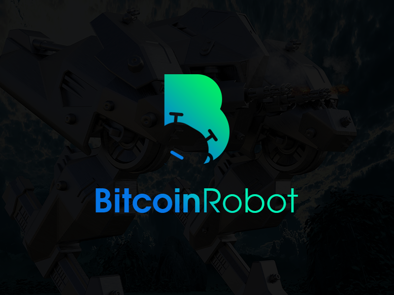 BitcoinRobot Logo First Draft