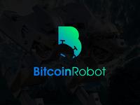 BitcoinRobot Logo First Draft