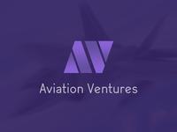 Aviation Ventures Minimalist Logo