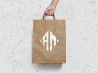 AM Super Market Logo Concept