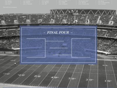 2014 Football Poster football sec college poster classic team 2014 stadium touchdown blackandwhite schedule bracket