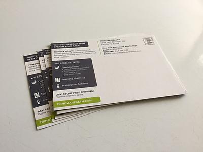 Direct Mail 2 print health mail postcard pharmacy