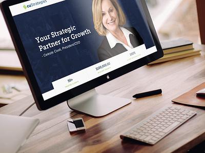 Consultant Website money interface design web clean consultant credit union